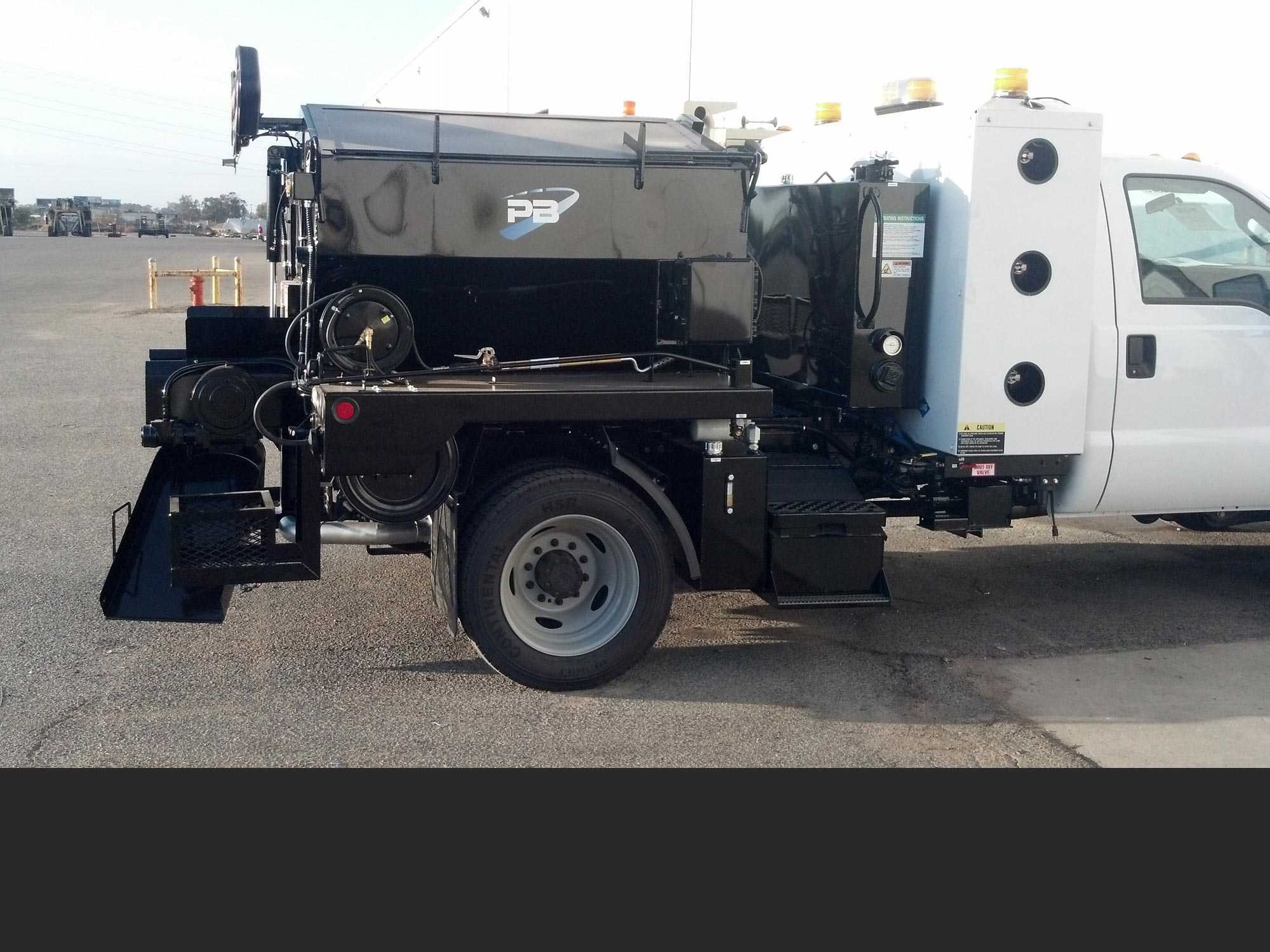 PB Model BC Asphalt Patcher