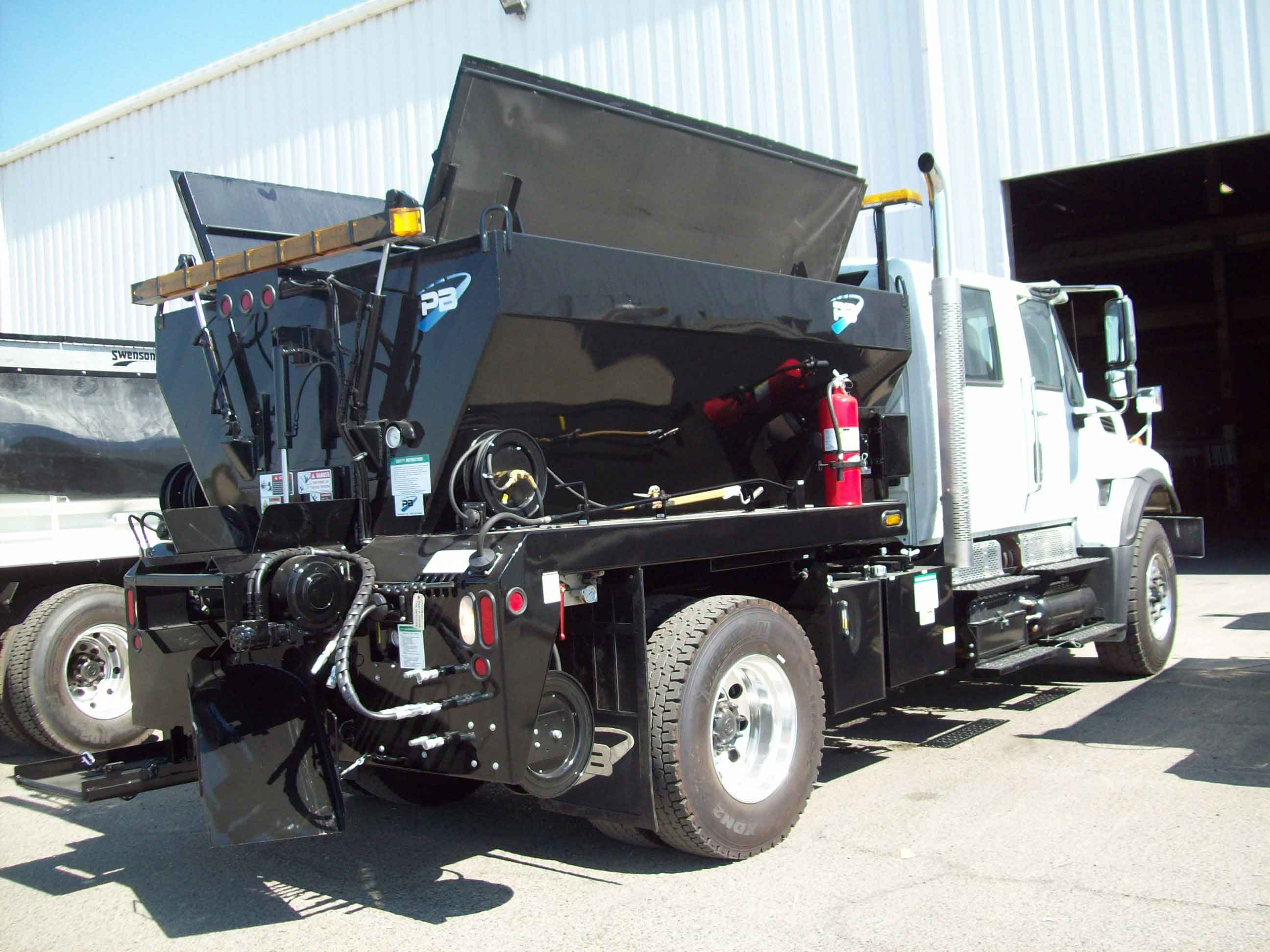 Pb loader patch truck